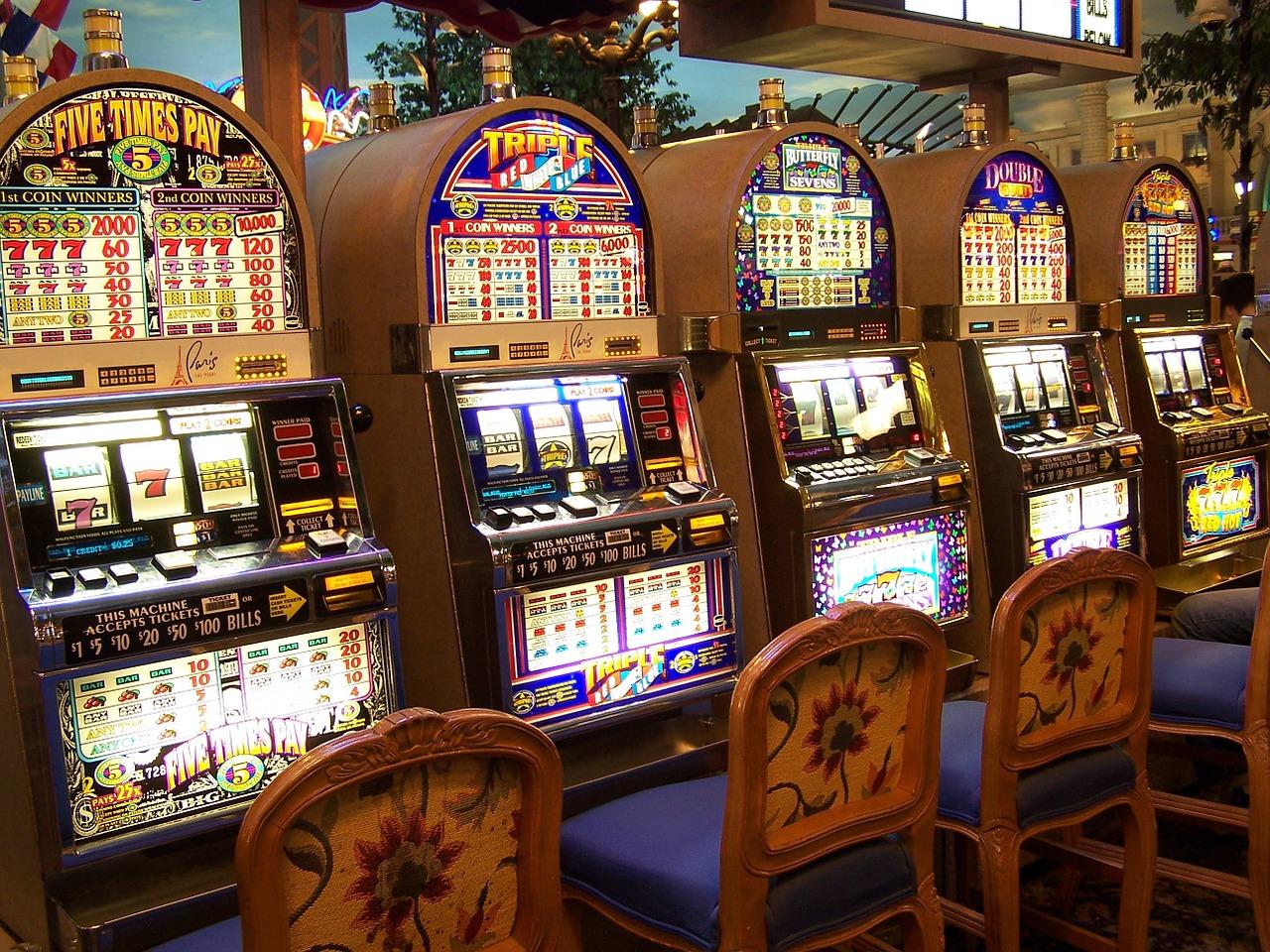 lošimo aparatai slots kazino
