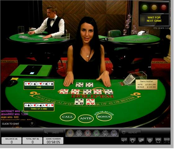 Casino holdem live casino