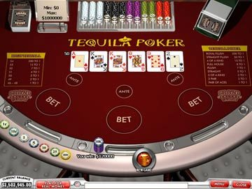 Tequila pokeris