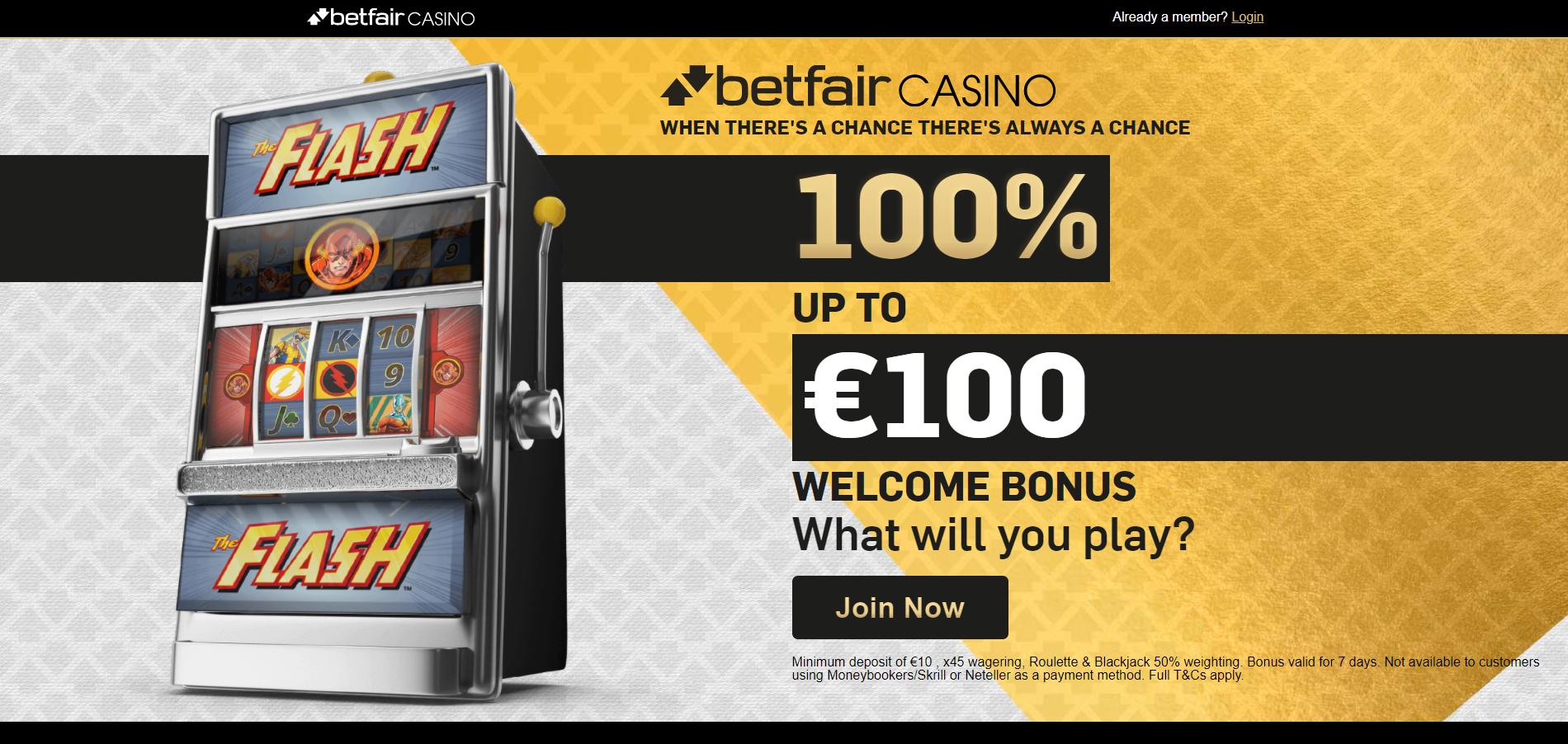 betfair casino bonus code betfair promo code free spins 100% premija iki 100€ flash lošimo automatas