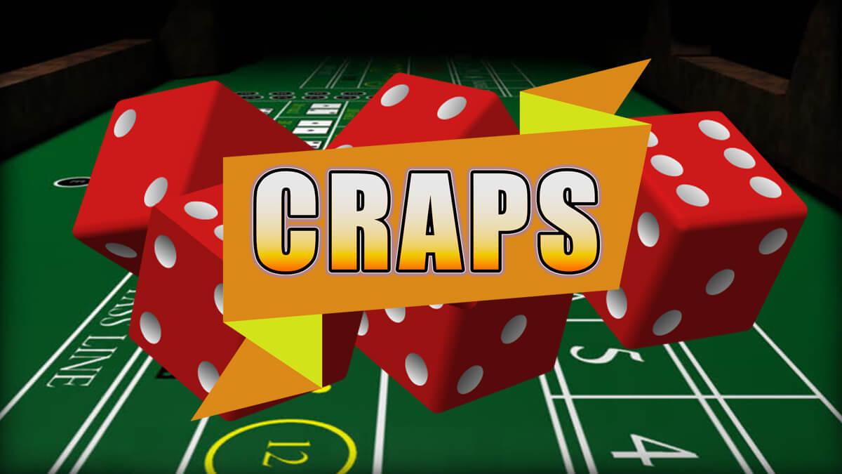 craps - kazino kauliuku losimas