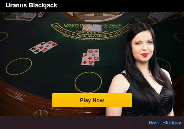 kaip zaisti BlackJack