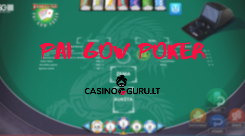fortune pai gow poker online - casinoguru