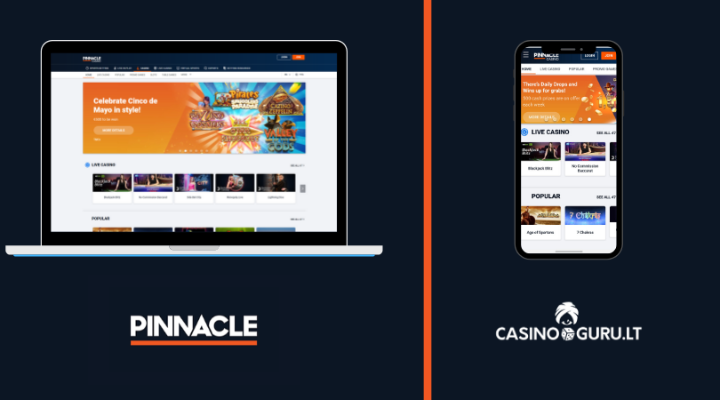 pinnacle casino apžvalga