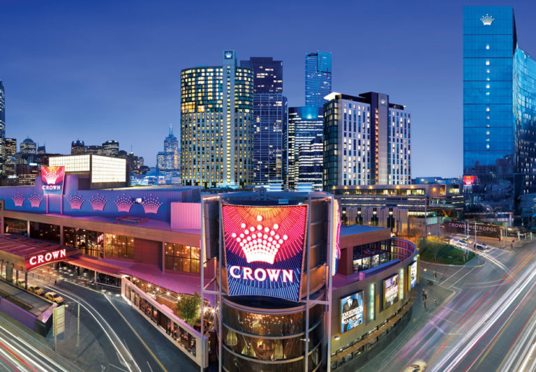 ''Crown'' kazino Melbourne Australia