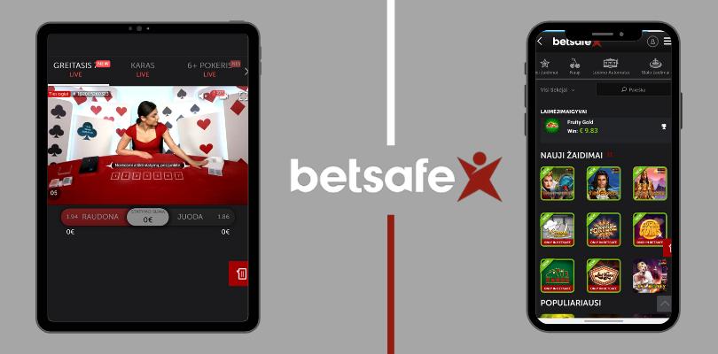betsafe mobile app live games greitasis 7 kazino žaidimai