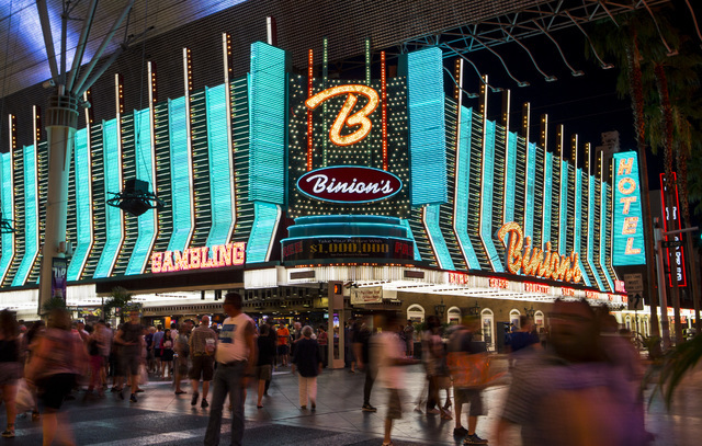 Binion's Casino Las Vegas