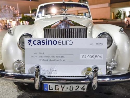 CasinoEuro jackpot laimėjimas