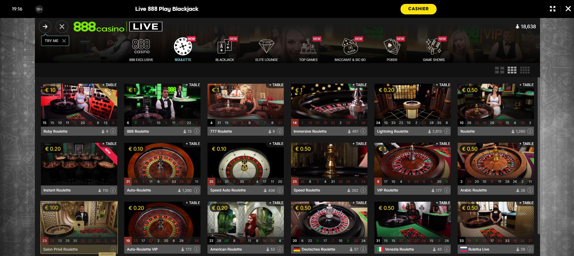 888 casino roulette ruletė gyvai ruletės ratas krupjė