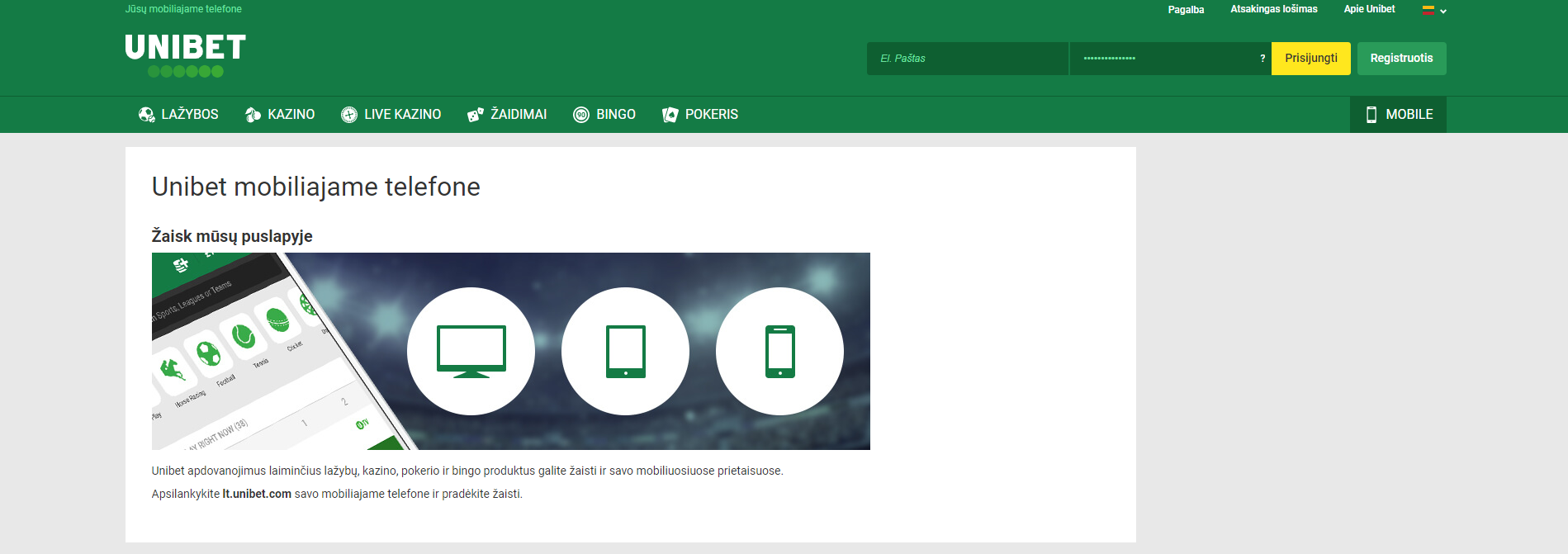 unibet casino app unibet mobile android ios