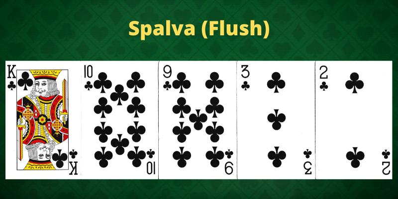 Pokerio kortų stiprumas ir spalvos kombinacija