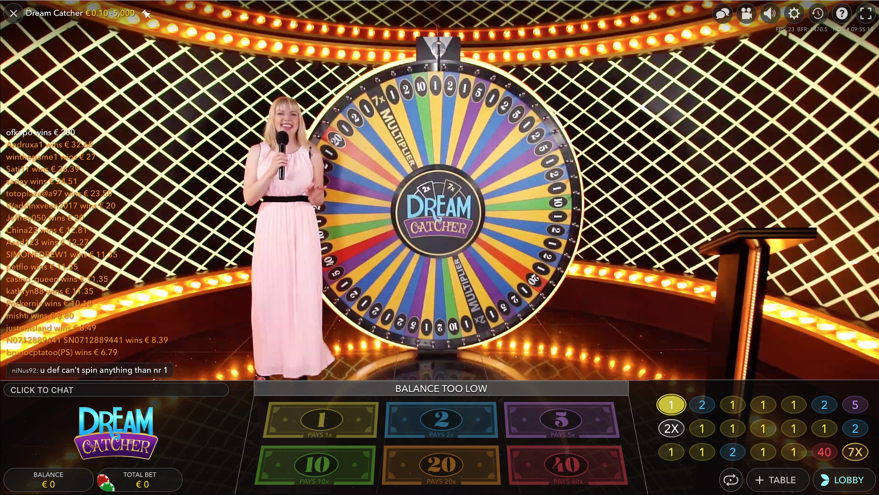 Dream Catcher_online casino game