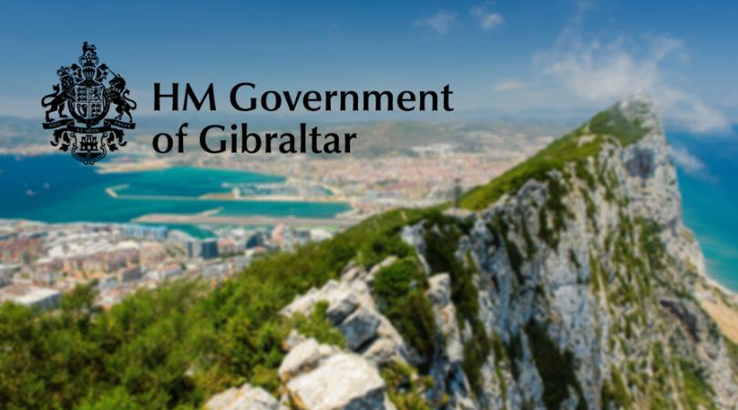 hm government of gibraltar - gibraltaro licencija - gibraltaro uola