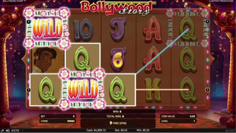 Bollywood Story_online kazino_losimo automatai