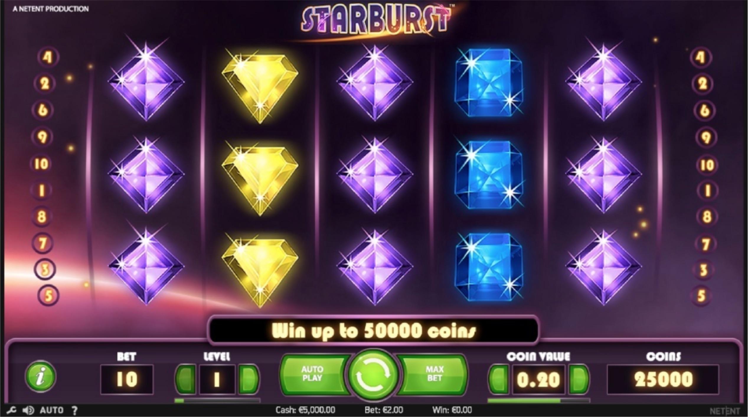 Starburst_online casino slot_5 eilės