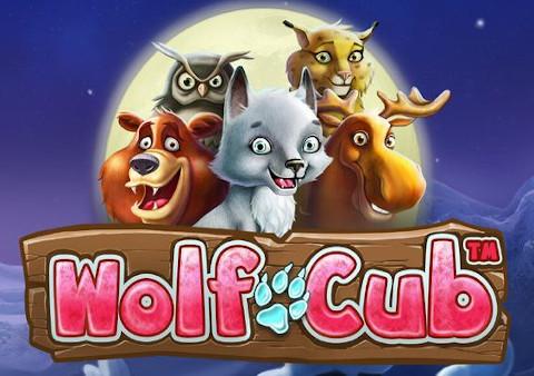 Wolf Cub lošimų automatas Specialusis paveikslėlis