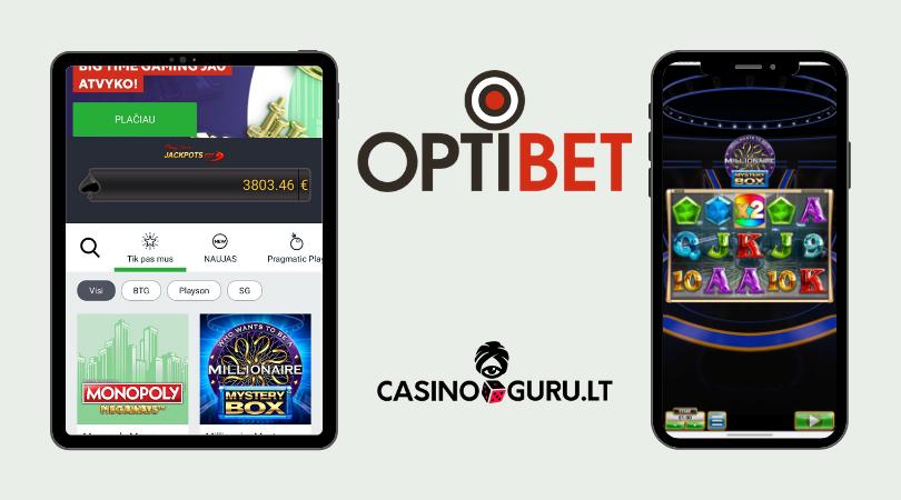 optibet app - optibet mobile
