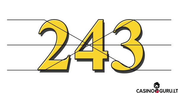 243 liniju