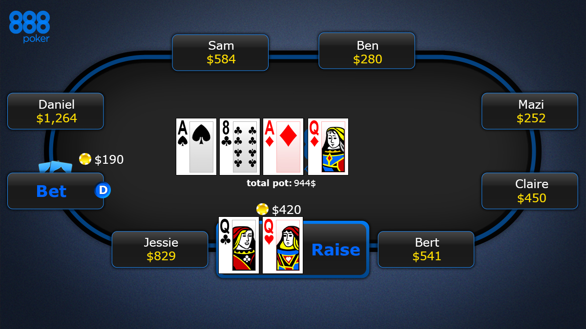 texas holdem poker taisykles_post-turn