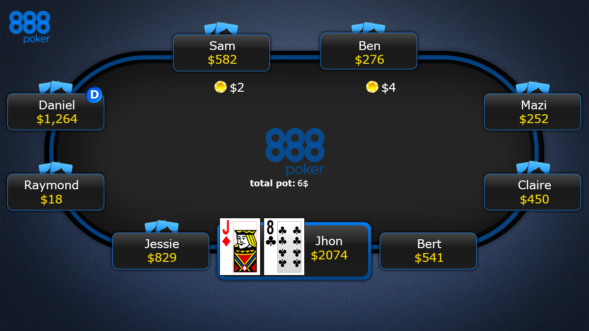 texas holdem poker_new round
