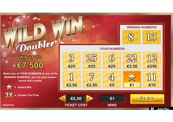 internetinė Momentinė loterijos loterija internetu internete