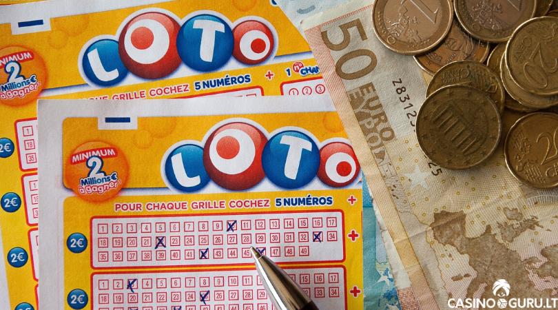 e-loterija lotto - E-loterijos