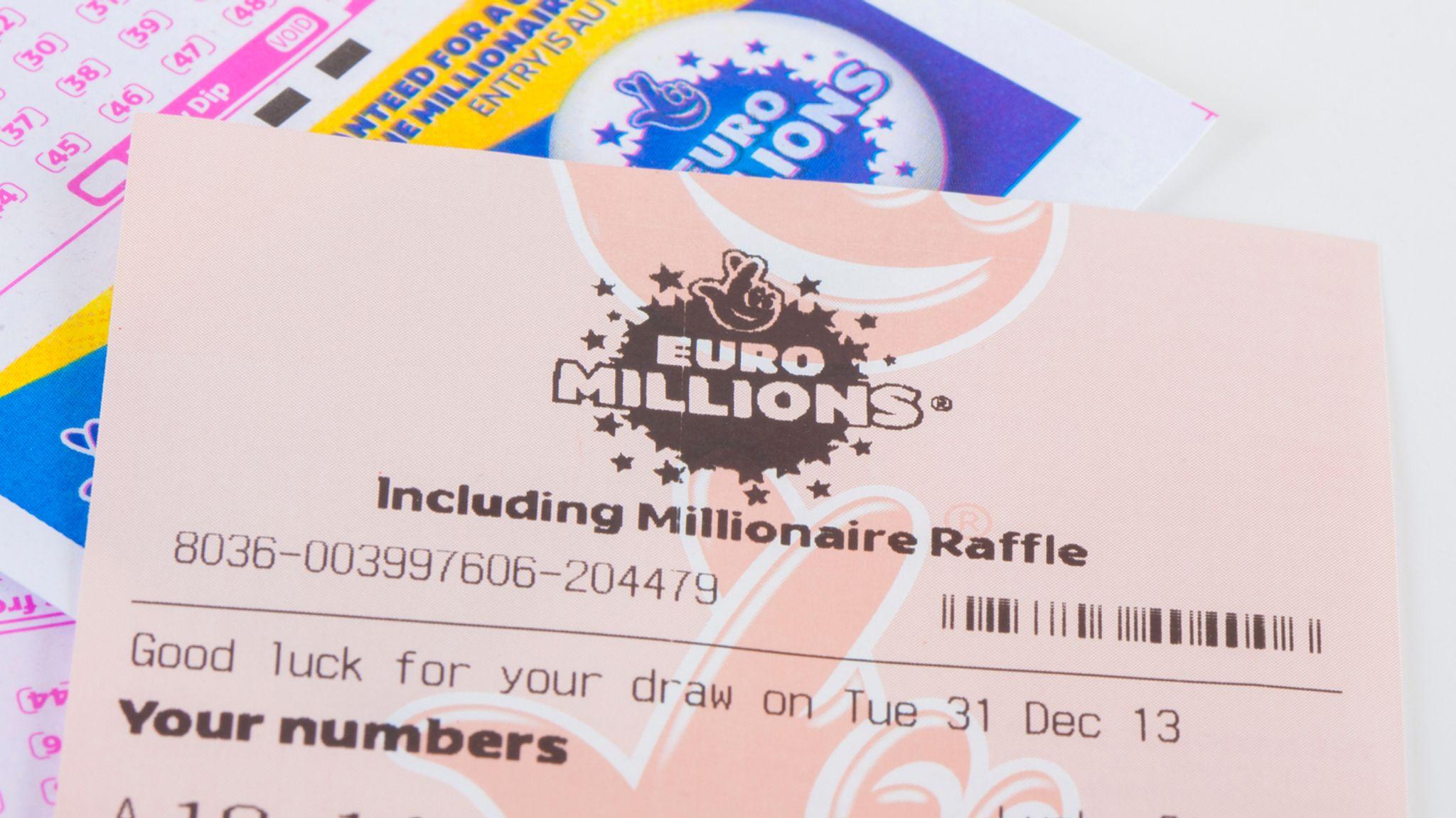 euromillions loterijos bilietai