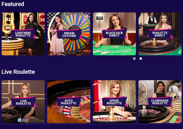 kazino gyvai