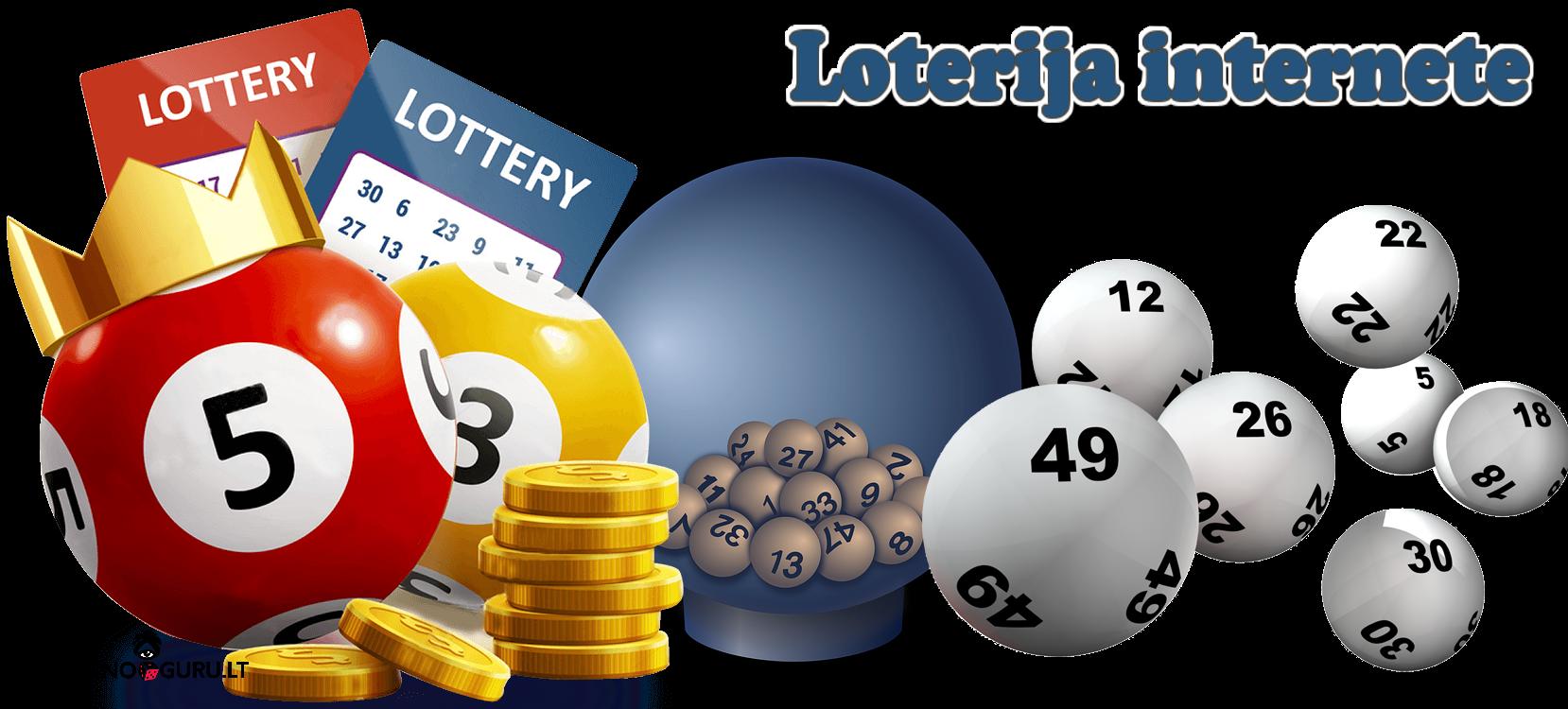 loterija internete - bilietai, kamuoliukai