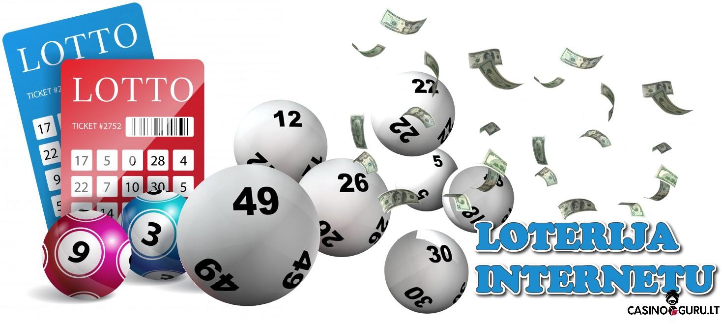 loterija internetu - bilietai ir kamuoliukai