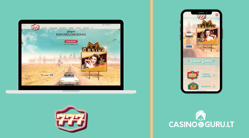 777 casino apžvalga - 777 kazino - 777.com - retro casino - 777 road car - casinoguru - casino ladies - 777 online casino mobile app