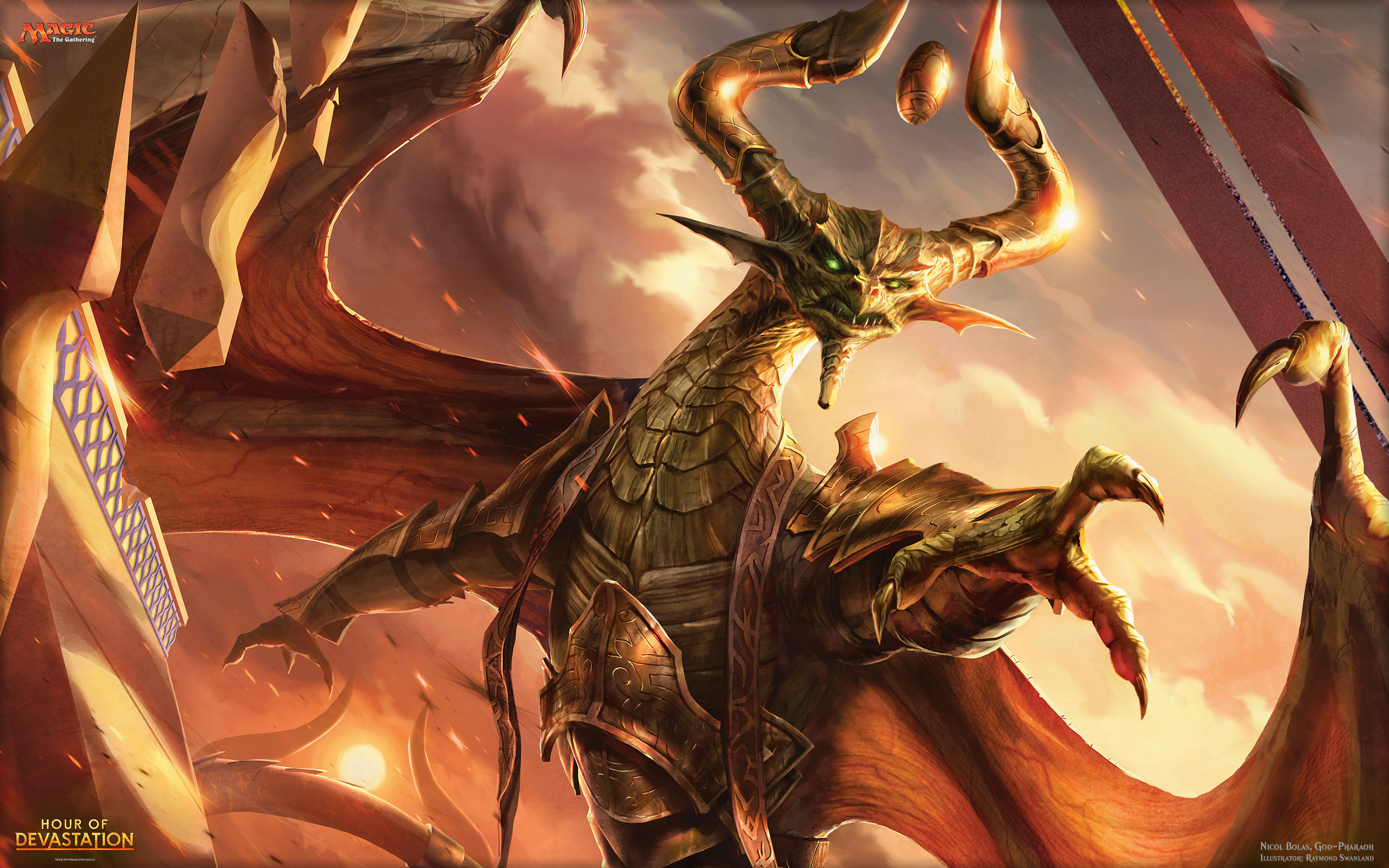Magic_the Gathering_Nicol Bolas_by Raymond Swanland