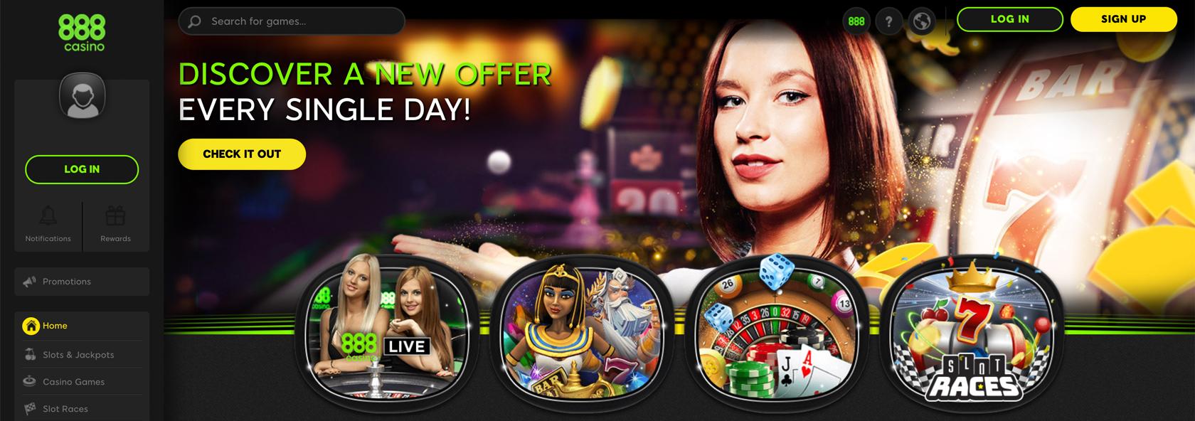 internetinis 888Casino-specialūs-bonusai