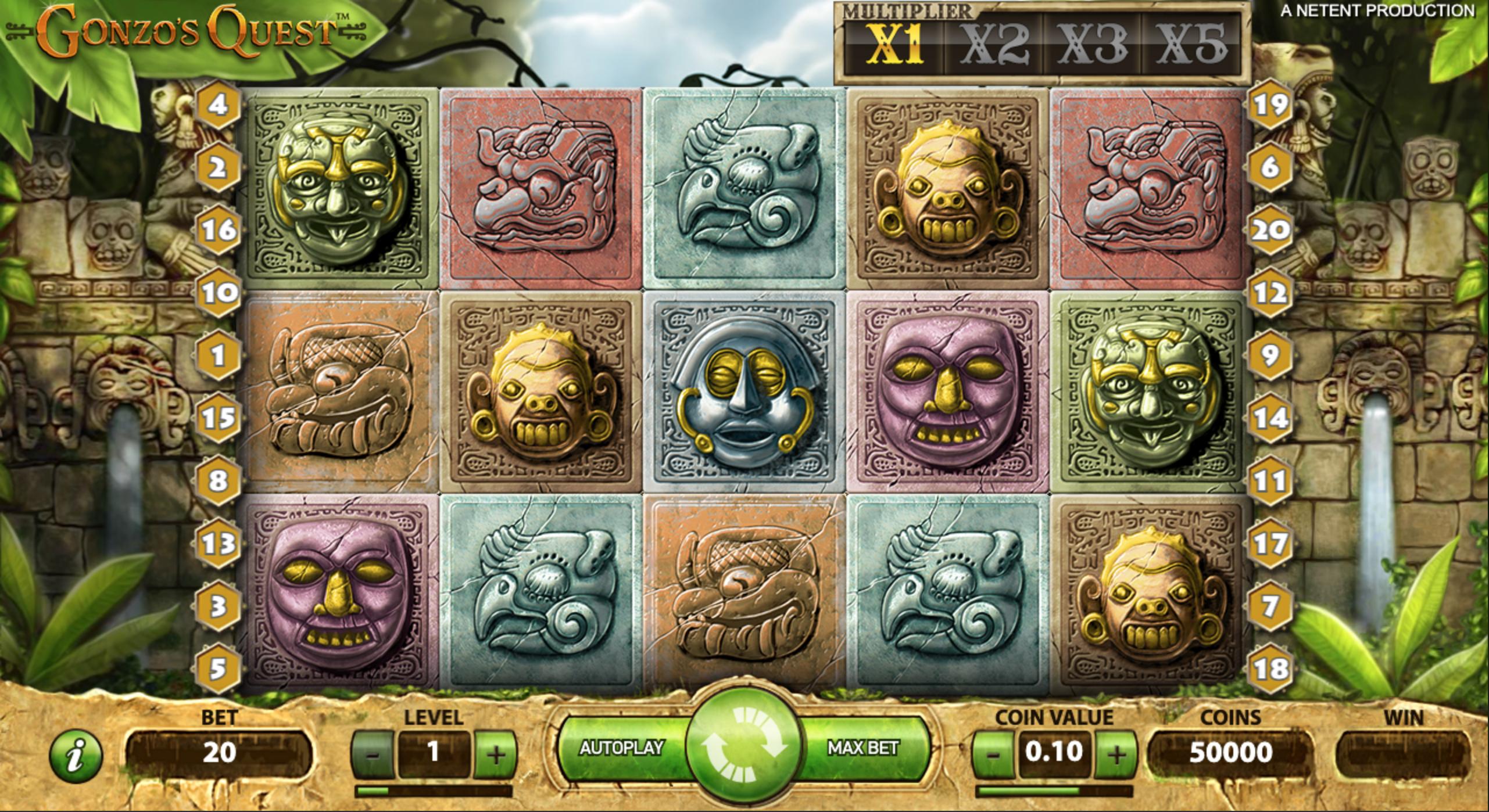 Gonzo's Quest žaidimų automatas_nemokami sukimai