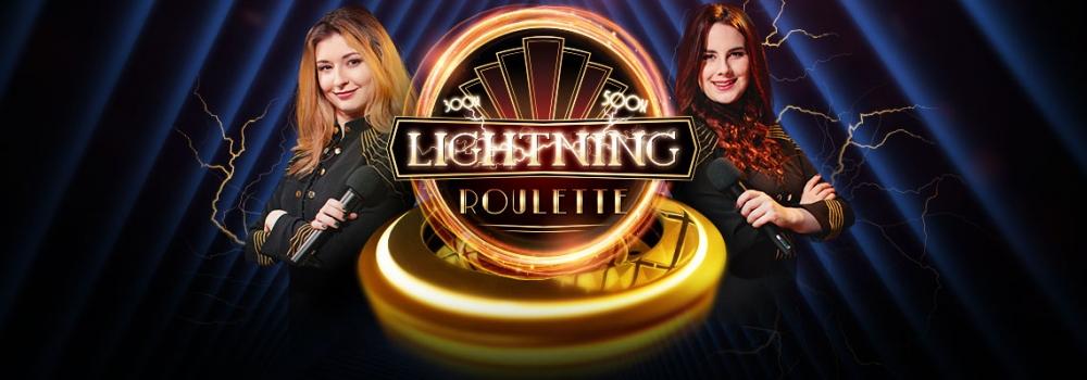 dvi merginos Lightning Roulette kazino rulete internete