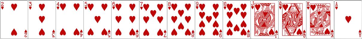 Kortų dalijimas Melagyje Kortų eilė pagal rangą