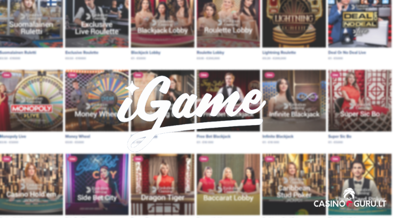 igame casino play live roulette blackjack