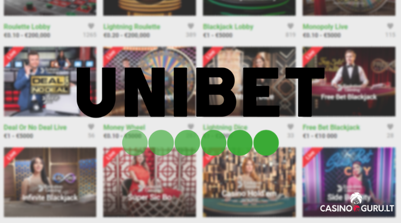 unibet live casino - evolution gaming blackjack online live roulette