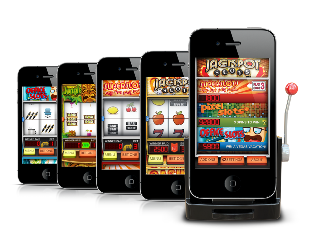 lošimų automatai internete - mobiliajam telefone