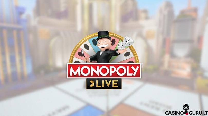 monopoly live kazino žaidimas - live monopoly - monopoly live evolution