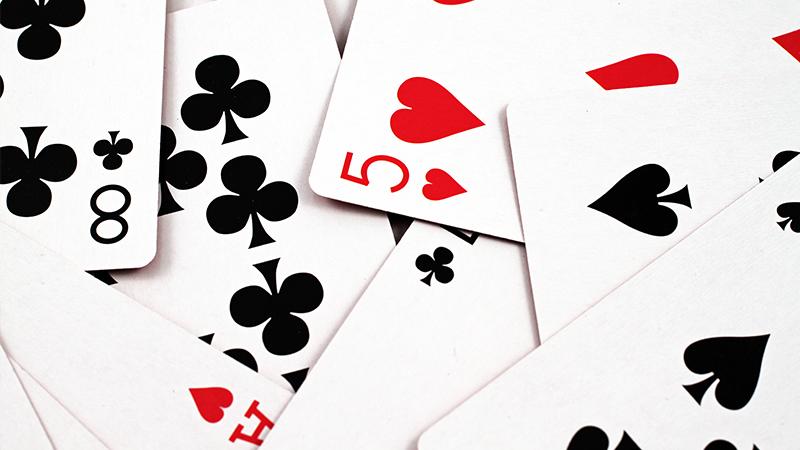paprastas kortų žaidimas