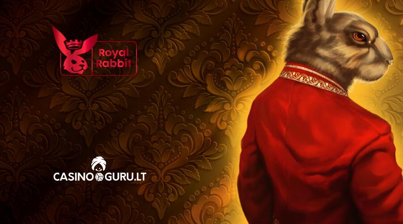 royal rabbit casino apžvalga - casinoguru - triušis su raudonu švarku - prabanga