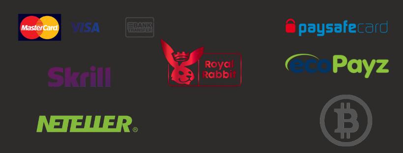 royal rabbit bitcoin mastercard visa skrill neteller