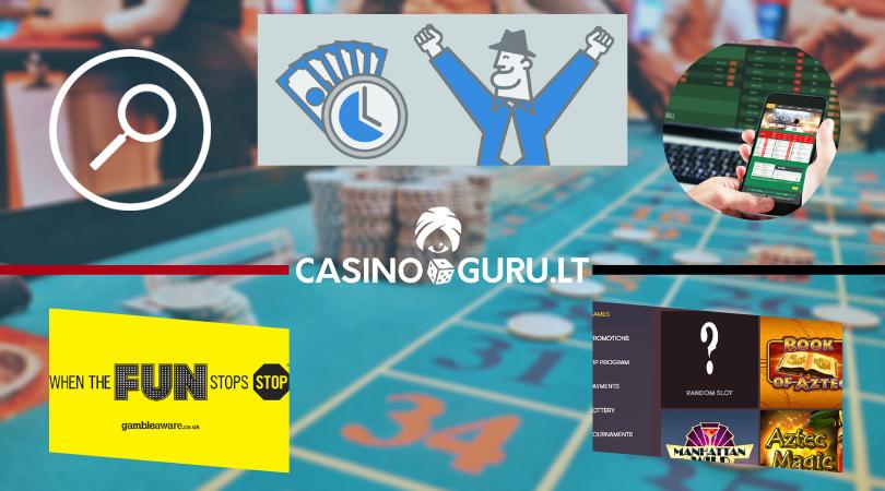 casino online best features - kazino funkcijos