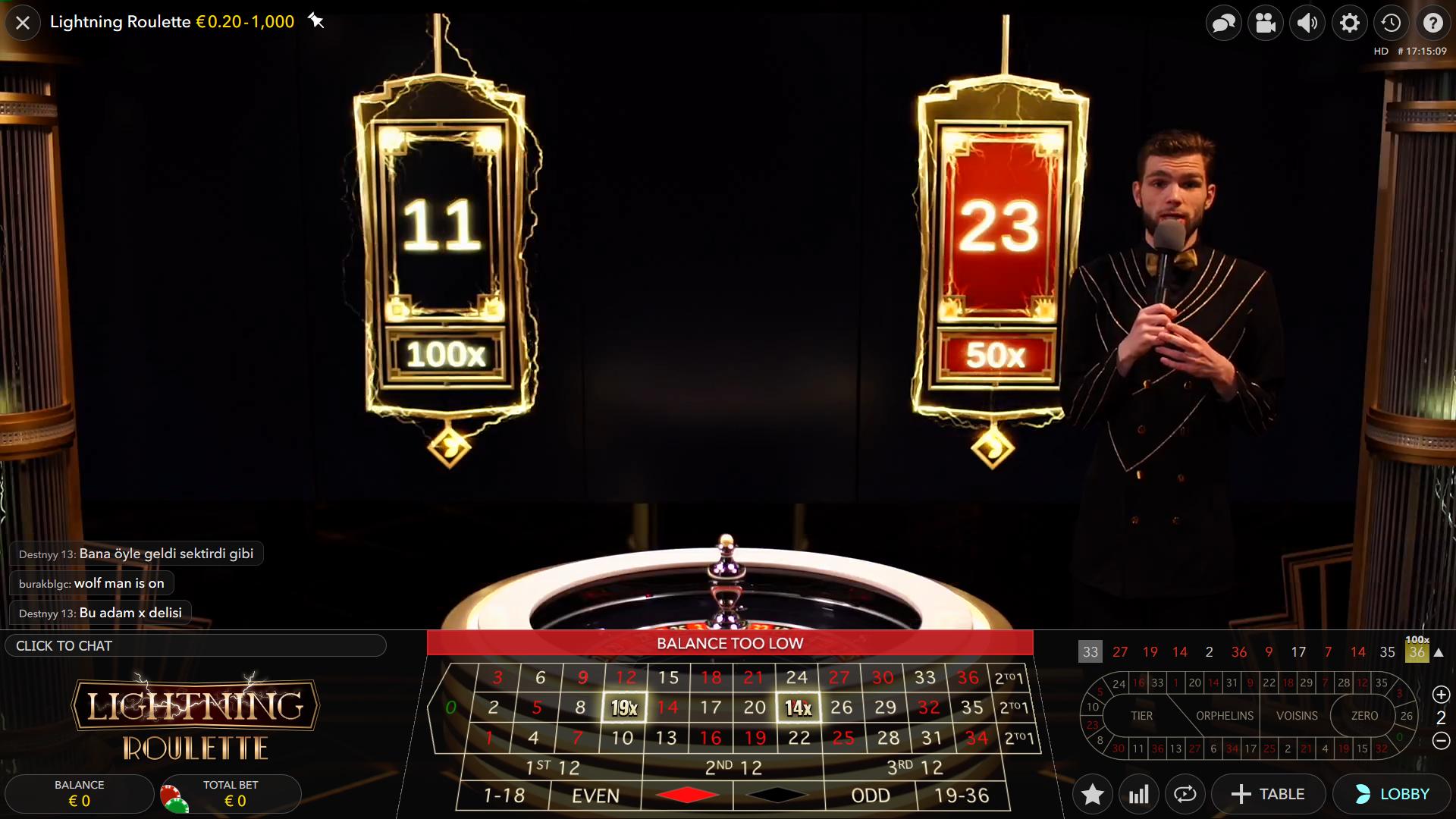kazino ruletė iš tikrų pinigų - lightning game presenter