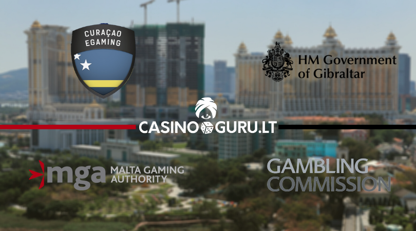 online casinos licenses - casino guru - kazino licencijos