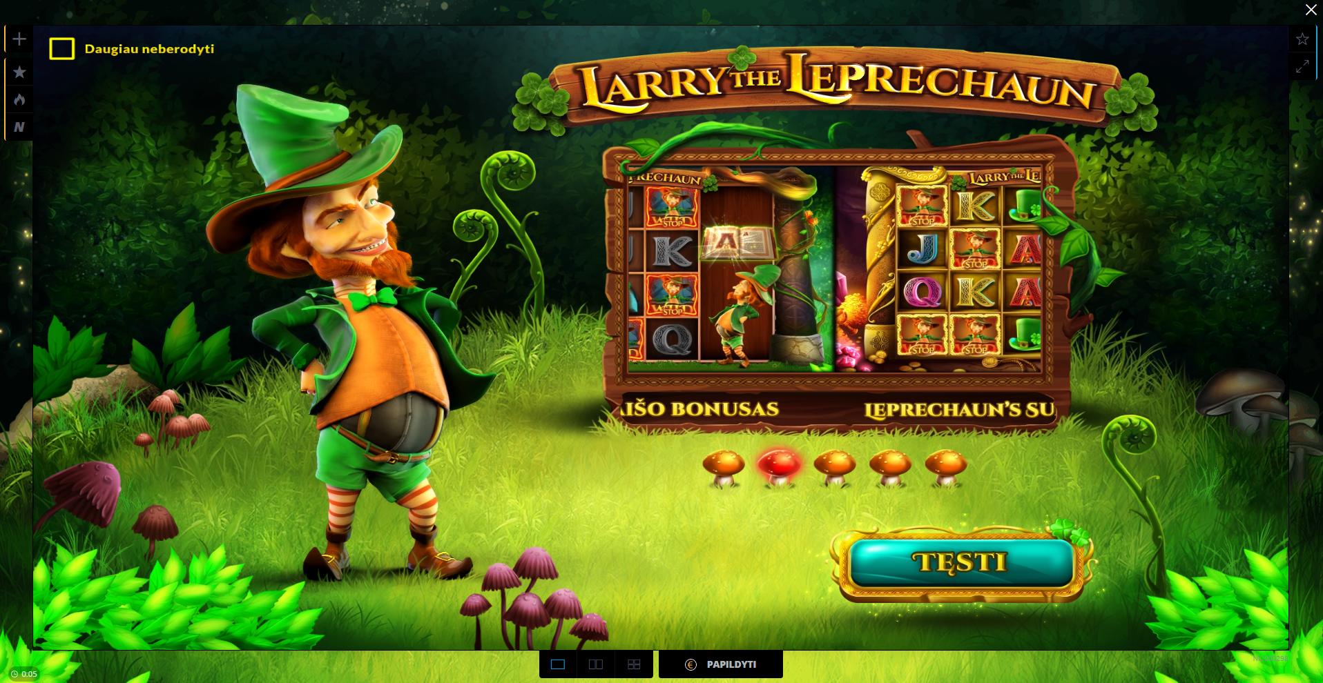 uniclubcasino larry the leprechaun wazdan