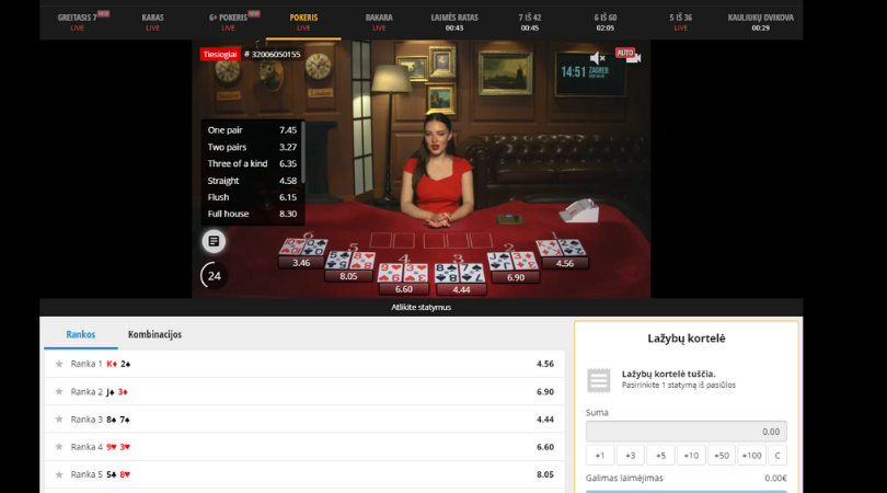 betgames.tv pokeris - bet on poker