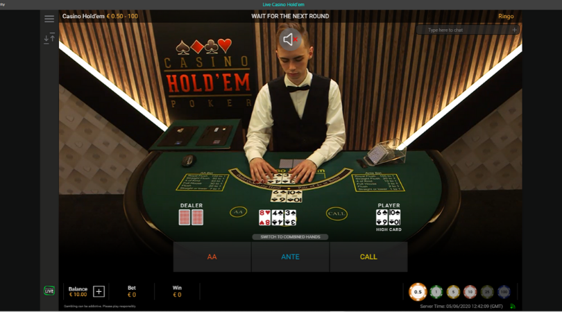 casino holdem playtech - three card poker