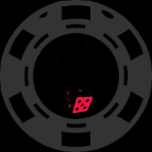 casinoguru poker chip dice eye black poker chip